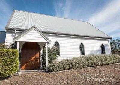Lovedale Wedding Chapel & Reception - Entry
