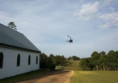 Lovedale Wedding Chapel & Reception - Flight
