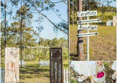 Cassidy & Adam ceremony set up